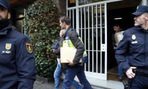 Escorcolls en domicilis de Jordi Pujol Ferrusola i del seu pare