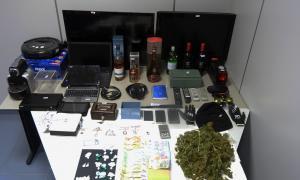 Ingressa a la presó per tràfic de drogues i tres robatoris amb força
