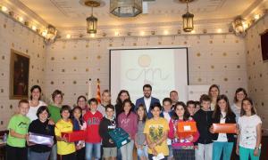 El Consell d'Infants de la Seu d'Urgell mostra la seva solidaritat als nens sirians