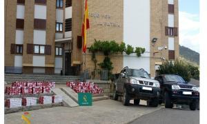 Les parts acorden presó per a quatre acusats de contraban