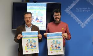 Albert Batalla i Pere Porta a la presentació del torneig.