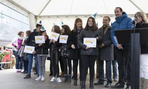 El Comú massanenc homenatja una quarantena de voluntaris