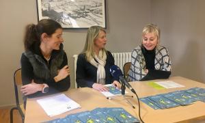 Un moment de la presentació de la nova edició de l'Escola de Mares i Pares de les Valls del Nord.