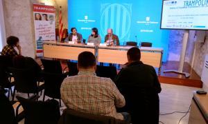 La presentació de l'estudi sobre la mobilitat transfronterera dels joves a banda i banda dels Pirineus.