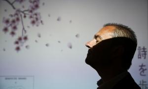 Mario Chimenea, treballador de l'ambaixada espanyola, poeta i naturalista