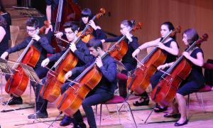 Els músics de la Jonca, durant el concert.