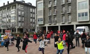 Una de les activitats organitzades per recollir fons per a La Marató de TV3.