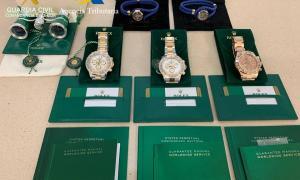Els rellotges comissats.