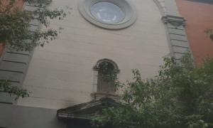 L'església de la Companyia de Maria a la Seu, aixecada el 1722 per ordre de Simeó.