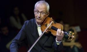 Gerard Claret va dirigir el seu últim concert amb l'ONCA el març passat al Palau de la Música.