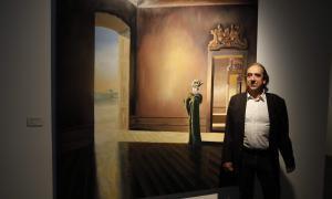 Andorra, Escaldes, Artalroc, Antoni Taulé, Taulé, exposició, pintura metafísica, figuració narrativa, Mercé, llindar