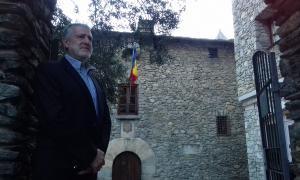 Castellet, retratat ahir a Casa de la Vall, va dirigir RTVA en dues etapes: del 1995 al 2005, i del 2008 al 2010.