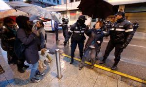 Repulsa a les detencions a Catalunya