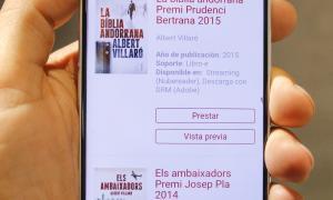 Andorra, Biblioteca Pública, llibre electrònic, ebook, eBiblio, prèstec, llibre