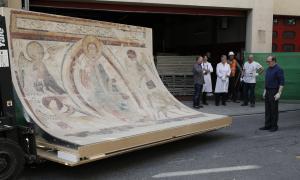 Andorra, frescos, Santa Coloma, conjunt mural, romànic, Taüll, mapping, Marsol, Gelabert, Burzon, Playmodes, Comenge