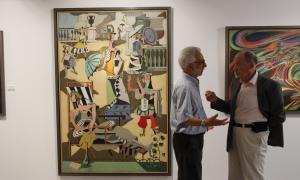 Andorra, Sant Julià, Museu del Tabac, exposició, Roux, Kanhweiler, Picasso, Gaspar, galeria Simon, pintura, surrealisme, cubisme