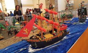 Els assistents van poder gaudir amb diorames de gran format, un concurs i jocs educatius.
