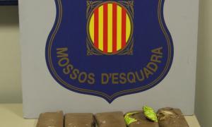 Detingut a la Vall d'Aran un home amb 1,5 quilos d'heroïna