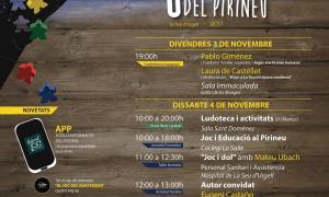 Tot llest a la Seu per celebrar el 2n Festival del Joc del Pirineu