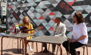 La cantant Ju, tret de sortida als concerts del cicle Músiques del món