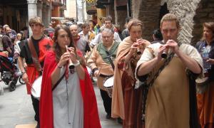El mercat se celebra els dies 9 i 10 de juny.