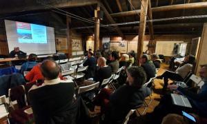 Un instant del Workshop que es es va celebrar a Esterri d'Àneu.