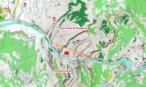 Licitades les obres del túnel de Tres Ponts per gairebé 48 milions d'euros