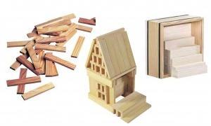 La biennal proposarà un joc arquitectònic: projectar una estructura més o menys habitable amb taules inspirades en el joc del Kapla.