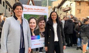La de Ciutadans Compromesos a la Massana és l'única candidatura amb dues dones al capdavant: Olga Molné i Eva Sansa.