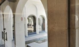 L'interior de la basílica, durant la passada festivitat de Meritxell.
