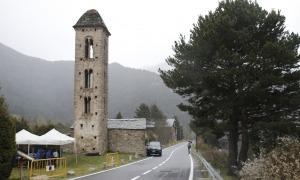 L'entorn de Sant Miquel d'Engolasters es va començar a tramitar la tardor passada. Encara no s'ha aprovat.