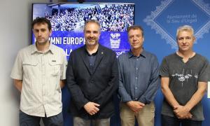 L'anunci que l'equip Cadí la Seu jugarà a l'EuroCup Women es va fer dimecres.
