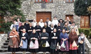 Els integrants del Grup de Folklore Casa de Portugal.