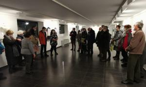 L'exposició de Sandra March es pot veure fins el 29 de febrer.