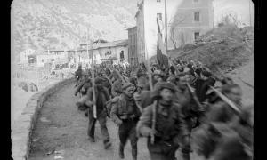 6 de febrer del 1939: els requetès franquistes tornen cap a la Seu després de la trobada amb Baulard a la Farga de Moles.