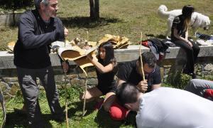 Andorra, falles, Fallaires d'Andorra, Fallaires, bedoll, Sant Joan, Nit de Sant Joan, fer rodar el foc, Puial, Albert Roig