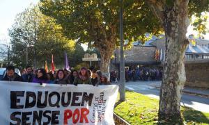 La Seu s'afegeix a la protesta per reclamar l'alliberament dels presos