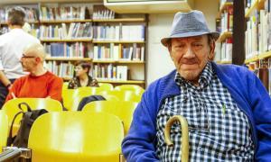 Morell va assistir ahir a la presentació del número 22 de la revista 'Ex-libris' a la Biblioteca Nacional.