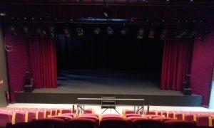 Interior del Teatre Comunal.