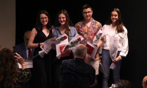 L'entrega dels premis de la 37a edició del concurs va tenir lloc ahir al Claror lauredià.