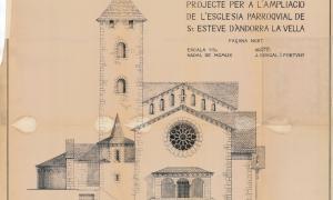 Andorra, Sant Esteve, Puig i Cadafalch, Josep Brugal, Brugal, Lluís Pujol, Bausili, Dilmé, Antoni Pol