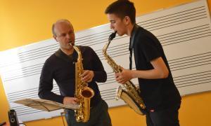 Andorra, Sax Fest, Vincent David, Efrem Roca, Bornkamp, Baritone Institute