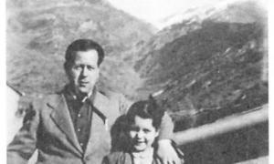 Francesc i Rosa Viadiu, als anys andorrans (1940-1952).