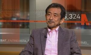 """Ko Tazawa, catedràtic d'Estudis interculturals a Tòquio, reconegut com a """"formador d'experts en Catalanística"""" al Japó."""