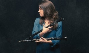 La clarinetista Marta Urzaiz ha participat en el disc 'Femina Feminae'.