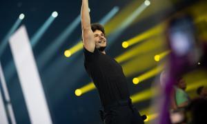 Miki Núñez, 'triunfito' i eurovisiu.
