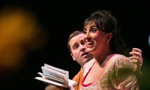 Jonaina Salvador, el 28 de gener a la segona i última funcio d''Elisir d'amore' al Claror.