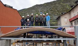 Andorra, Rosaleda, Dilmé, volta catalana, Guastavino, volta de maó de pla