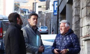 Josep Àngel Mortés, d'En Comú per Ordino, va respondre a Enric Dolsa ahir a la tarda.