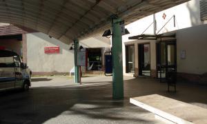 L'estació d'autobusos de la Seu.